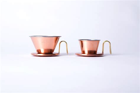 Konos Coffee Dripper Daiso Coffee Dripper Flat Dripper Brown kalita wave tsubame 155 copper kurasu