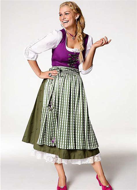 german clothing dirndl dress dressed up girl