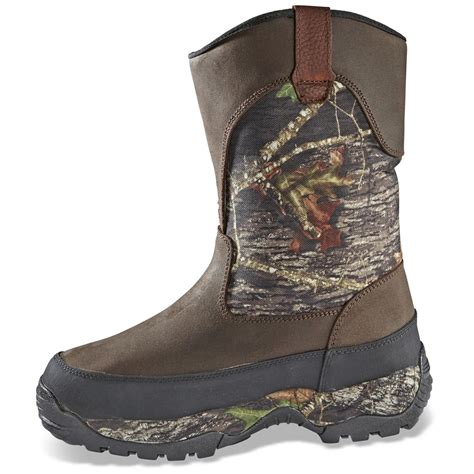 mens insulated pull on boots guide gear s pull on boots insulated
