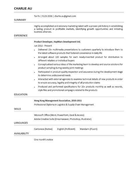 product development resume product developer resume resume ideas
