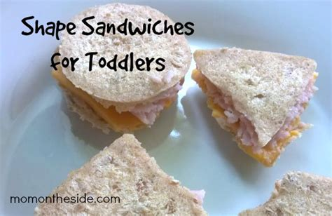 toddler ideas shape sandwiches for toddlers