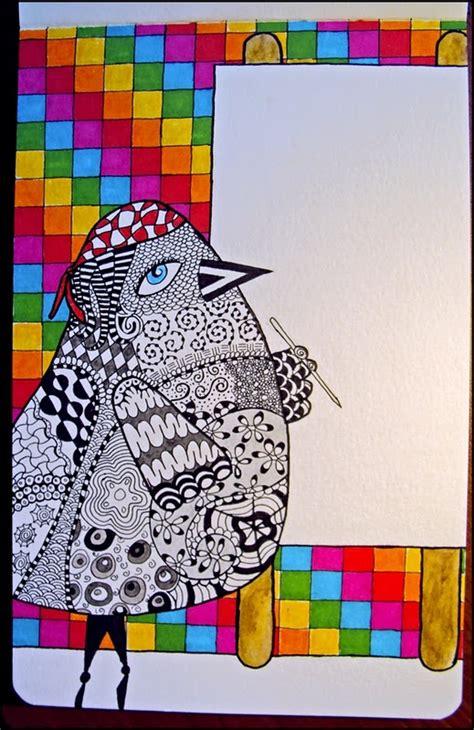 doodle doo india 195 best zentangle animals images on