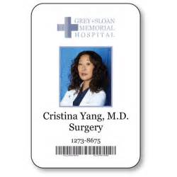 cristina yang doctor on greys anatomy t v show magnetic