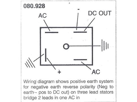 wiring diagram for solid state rectifier circuit and