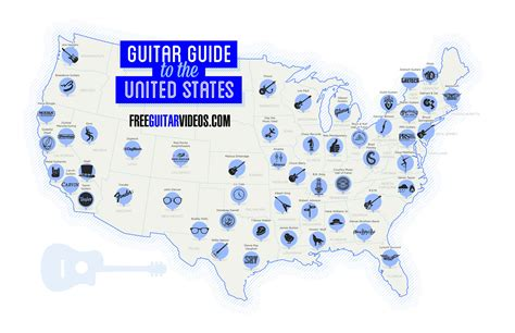 map of the united states song guitar guide to the united states map guitar treats