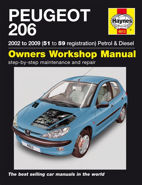 what is the best auto repair manual 2002 nissan sentra electronic valve timing peugeot 206 petrol diesel 02 09 51 to 59 haynes publishing