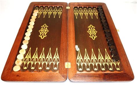 Handmade Backgammon Set - 21 quot crocodile wooden backgammon set handmade tournament