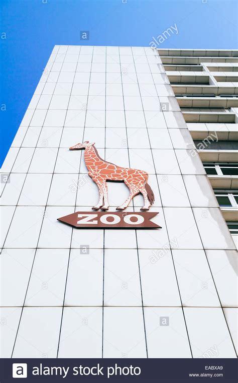 zoologischer garten berlin logo building berlin zoological garden berlin stockfotos