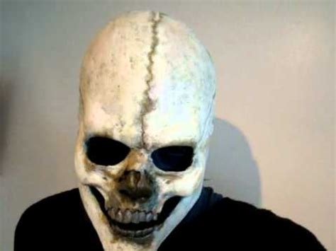 How To Make A Skull Mask Out Of Paper - sid wilson volume 3 skull mask finished