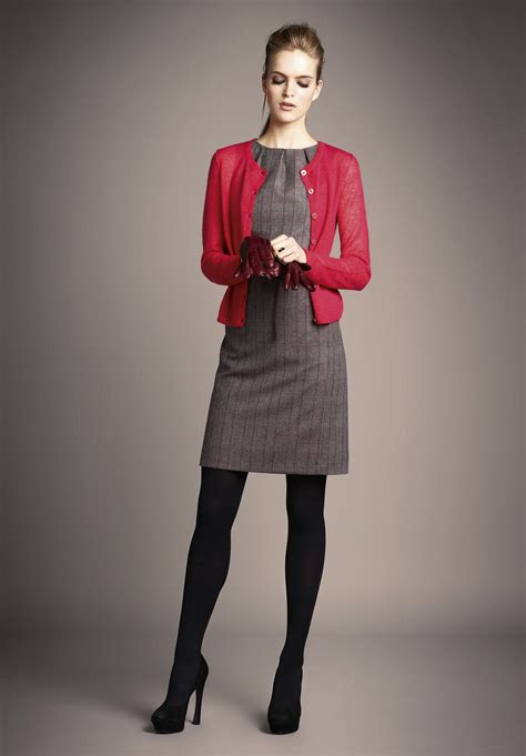 patterned tights interview our favourite winter outfits for work chics dress black