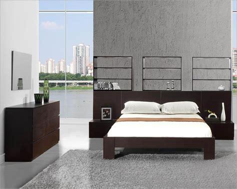 modern design platform bedroom set made in italy 44b3611 modern wenge finish platform bedroom set made in italy 44b4511