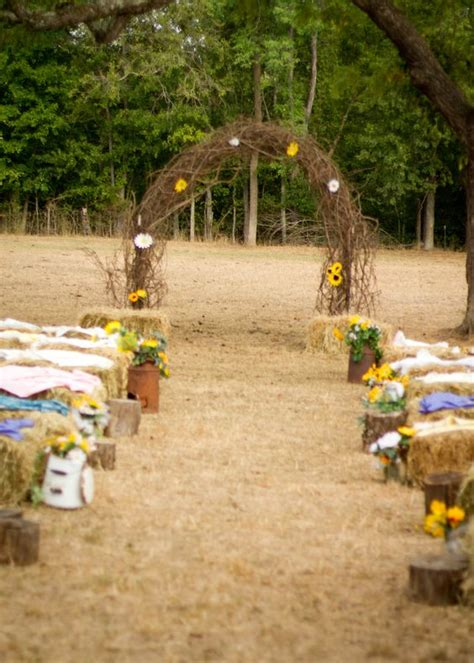 wedding arch material rustic wedding arch made out of grapevine seating was hay