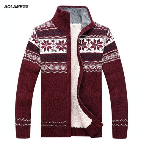 Winter Fashion Warm Sweaters by Aolamegs Sweater Fashion Autumn Winter Wool Cardigan