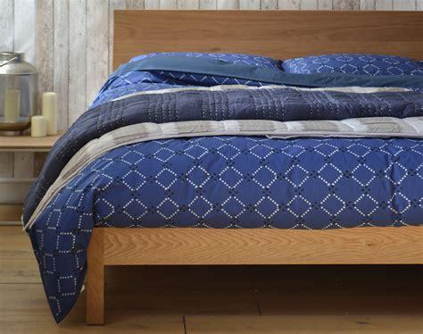 blue patterned bedding uk jay street block print company hira bedding natural bed