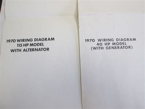 1970 evinrude johnson outboard ignition wiring diagrams