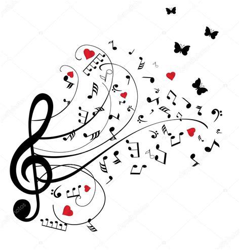imagenes musicales descargar notas musicales de vectores archivo im 225 genes vectoriales