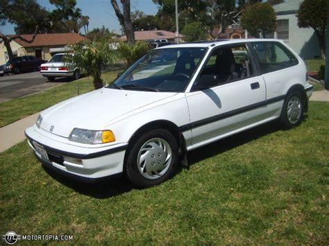 1990 honda civic hatchback value 1990 honda civic si id 16805