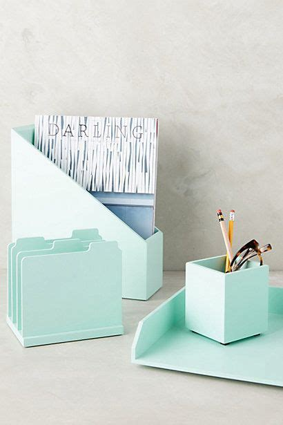 Anthropologie Desk Accessories Mint Green Other And Paper On Pinterest