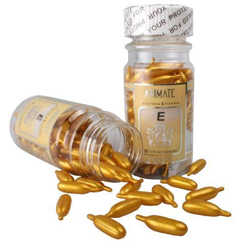 Sale Animate Vitamin Wajah Vit E Isi 90 Butir animate aloe vera vitamin e 60 soft cel capsules 90ml g