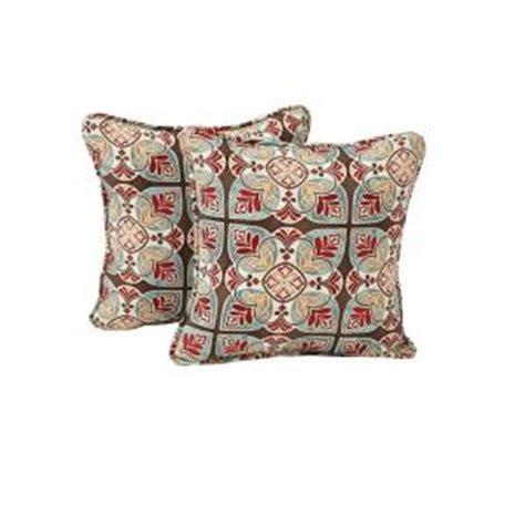 Outdoor Ac 1 2 Pk Bekas hton bay fenton outdoor throw pillow 2 pack fentp 2pk the home depot