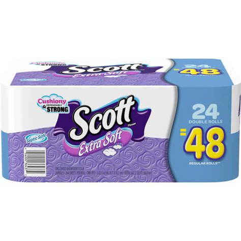 scott bathroom tissue scott extra soft bathroom tissue double rolls 264 sheets
