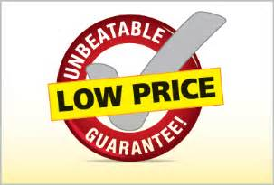Low Price Low Price Guarantee