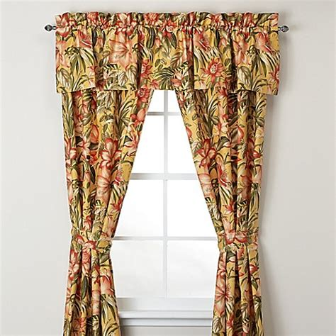tommy bahama curtains tommy bahama 174 tropical lily window curtain panel and