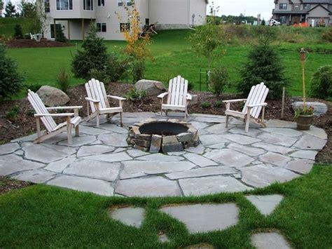 camino de jardin ideas atractivas piedras losas  baldosas