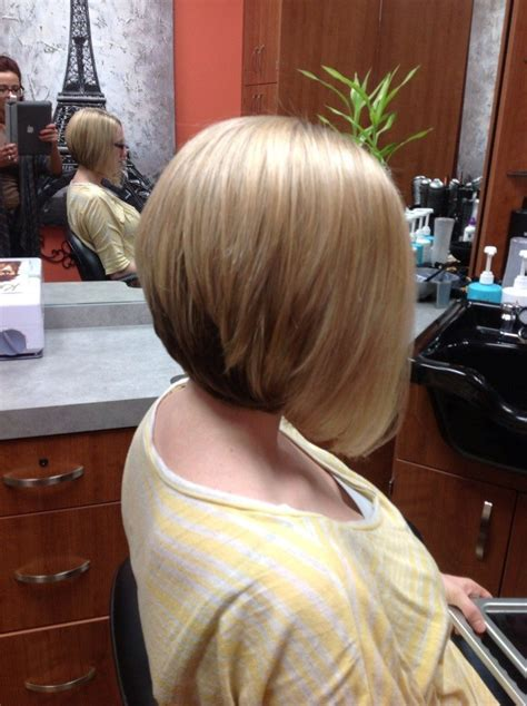 a line stacked bob a line stacked haircut haircuts models ideas