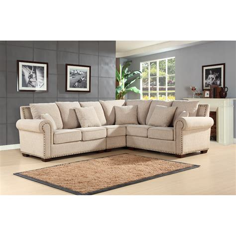 Abbyson Living Mona Sectional Reviews Wayfair Abbyson Sectional Sofa