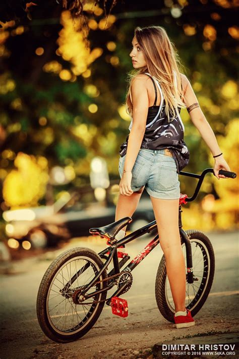 hot female bicycle riders lovely young woman riding a bmx bicycle 54ka photo blog