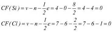 formule chimiche di struttura e carica formale