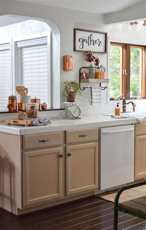 vintage kitchen decorating ideas fall vintage kitchen decorating fox hollow cottage