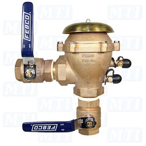 febco 765 1 5 quot pressure vacuum breaker