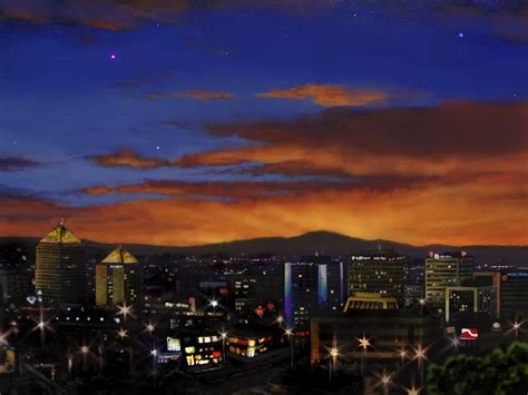paint nite abq albuquerque new mexico skyline west at 112913