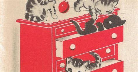It's my cake: Vintage Kittens Birthday Card
