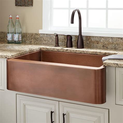 Lowes Copper Kitchen Sink Enchanting Kitchen Room Magnificent Porcelain Undermount Sink Elkay In Copper Sinks Lowes Find