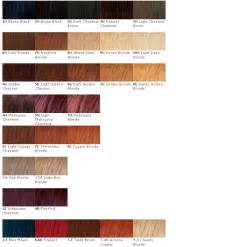 naturtint color chart ash hair color chart brown hairs