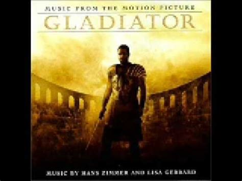 theme music gladiator movie gladiator soundtrack youtube