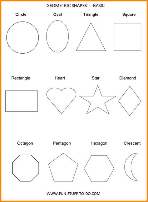 Geometric Patterns Card Template by 13 Printable Shape Templates Ars Eloquentiae