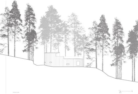 Section Of Tree by Simple Drawing Trees Section Architecture Sanaa