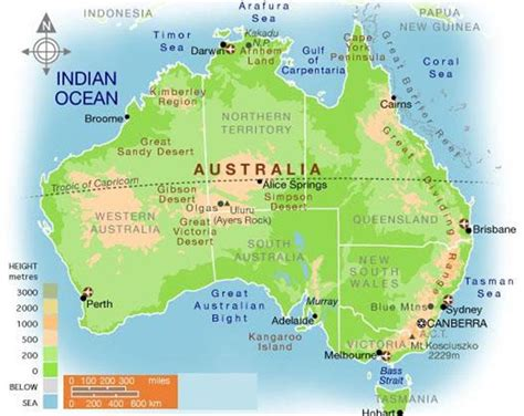 australia global map the place of australia in the world australia and it s