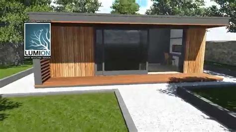 backyard home office sketchup 8 drawing of home office garden room sip building youtube