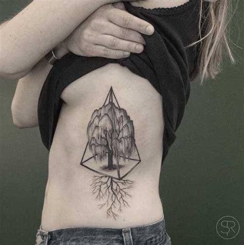 willow tree tattoos 40 achingly beautiful tree tattoos tattooblend