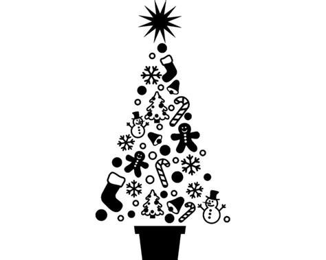 wandtattoo weihnachtsbaum wandaufkleber kaufen bei plot4u
