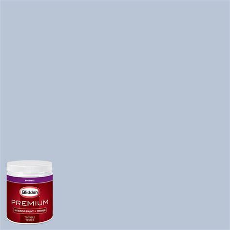 glidden premium 8 oz hdgv32u painter s periwinkle eggshell interior paint with primer tester