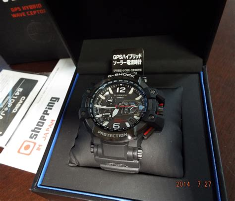 G Shock Gwg 1000 Black White Box g shock gpw 1000 1ajf gps gravity master aviation new 100