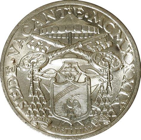 sede vaticano 10 lire sede vacante vatican city numista