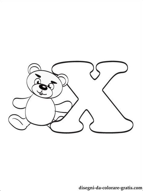 lettere da colorare e stare lettera x disegni da colorare disegni da colorare gratis