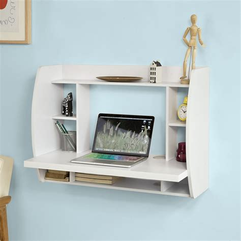Wall Mounted Desk Shelf by Sobuy 174 Wall Mounted Table Desk Home Office Workstation